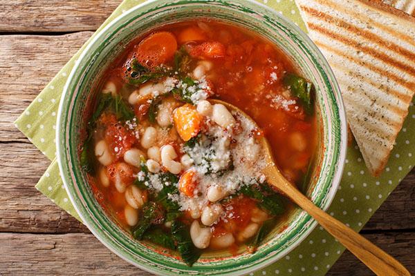 暖かいスープ