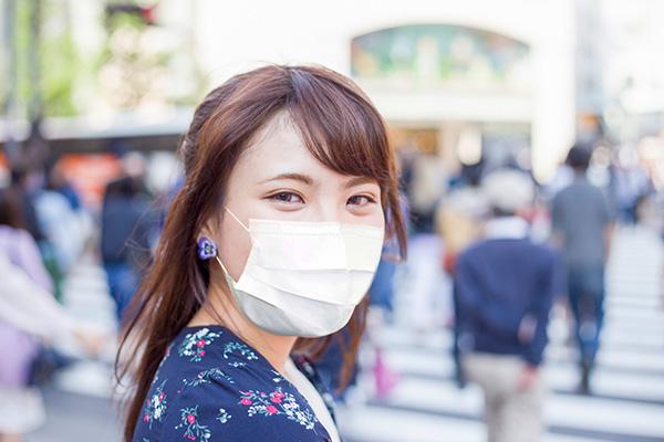 マスクのアイメイク