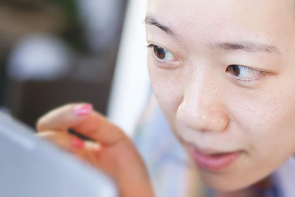 オンライン肌色診断 目の粘膜