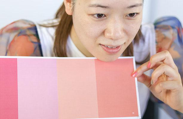 オンライン肌色診断 カラーカード チェック